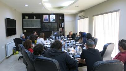 at the Ramallah Municipality