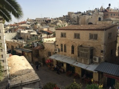 The old streets of Jerusalem