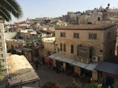 The old streets of Jerusalem
